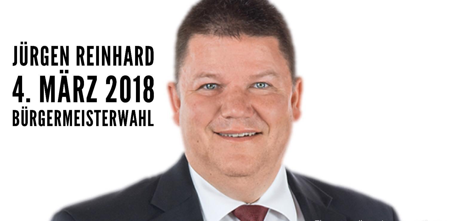 Jürgen Reinhard - Bürgermeister nah am Menschen